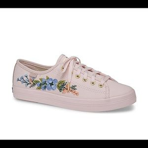 Keds Women's Embroidered Sneakers.